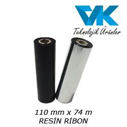 110 mm x 74 m RESİN RİBON