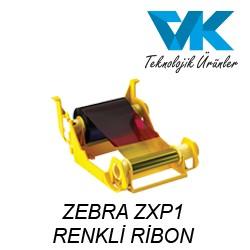 ZEBRA ZXP1 RENKLİ RİBON