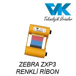 ZEBRA ZXP3 RENKLİ RİBON