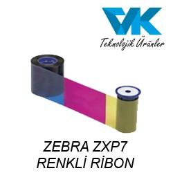 ZEBRA ZXP7 RENKLİ RİBON (800077-742EM)