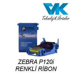 ZEBRA P120i RENKLİ RİBON
