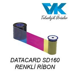 DATACARD SD160 RENKLİ RİBON
