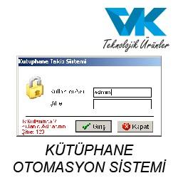 KÜTÜPHANE OTOMASYON SİSTEMİ