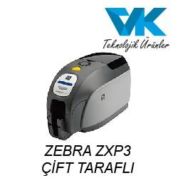 ZEBRA ZXP3 Çift Taraflı