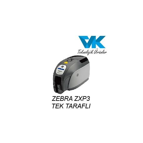 ZEBRA ZXP3 Tek Taraflı