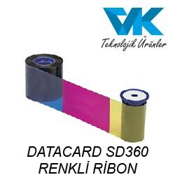 DATACARD SD360 RENKLİ RİBON