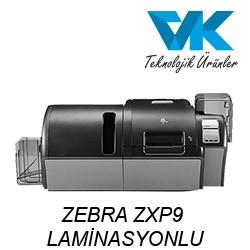 ZEBRA ZXP9 LAMİNASYONLU