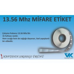 Mifare Etiket 13,56 Mhz 45x 25 boyutunda 1 K