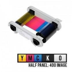 Evolis R5H004NAA 1/2 Yarım Panel Renkli Ribon – YMCKO