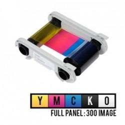 Evolis R5F008EAA 5 Panel Renkli Ribon – YMCKO – 300 Baskı