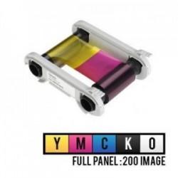 Evolis R5F002EAA 5 Panel Renkli Ribon – YMCKO – 200 Baskı