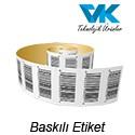 BASKILI ETİKET