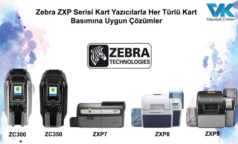 Zebra kart yazıcılar