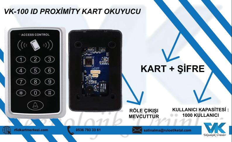 VK-100 ID PROXİMİTY KART OKUYUCU